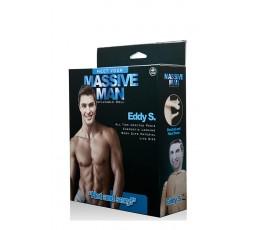 Sexy Shop Online I Trasgressivi - Bambolo Gonfiabile - Massive Man Eddy S Love Doll - NMC