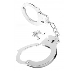 sexy shop online i trasgressivi Manette In Metallo - Designer Metal Handcuffs Silver - Pipedream