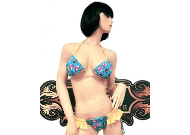 Bikini Transgender - Bikini Stampa Animali e Frange - Ivete Pessoa