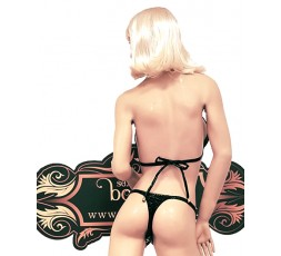 sexy shop online i trasgressivi Bikini Nero Plastificato Brillante - Ivete Pessoa