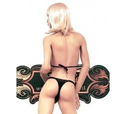 sexy shop online i trasgressivi Bikini Rosso e Nero Scozzese - Ivete Pessoa