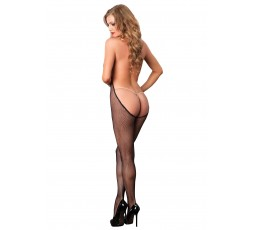Sexy Shop Online I Trasgressivi - Bodystocking - Bare Bottom Bodystocking Black - Leg Avenue