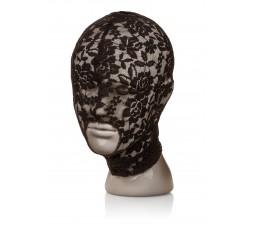 sexy shop online i trasgressivi Maschera - Scandal Lace Hood Black - California Exotics