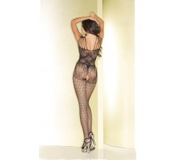 Sexy Shop Online I Trasgressivi - Bodystocking - Fishnet Floral Bodystocking - Be Wicked