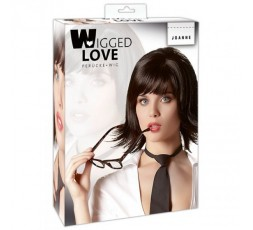 Sexy Shop Online I Trasgressivi - Parrucche - Liscia Nera Corta Joanne - Orion
