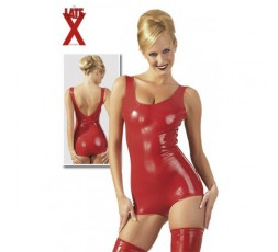 Sexy Shop Online I Trasgressivi Body in Lattice Rosso - LateX