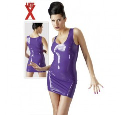 Sexy Shop Online I Trasgressivi Mini Abito in Lattice Viola - LateX