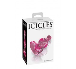 Sexy Shop Online I Trasgressivi - Plug Anale In Vetro - Icicles N.75 Transparent - Pipedream