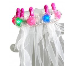sexy shop online i trasgressivi Gadgets Scherzi - Velo Da Sposa Bachelorette Party Favors Light-Up - Pipedream