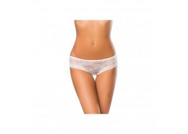 Sexy Lingerie - Slip Perizoma Bianco in Pizzo