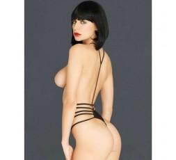 Sexy Shop Online I Trasgressivi - Sexy Lingerie - Body a Lacci Kink Harness G String Teddy - Leg Avenue