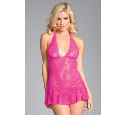 Sexy Shop Online I Trasgressivi - Sexy Lingerie - Babydoll Taylor Floral Lace - Be Wicked