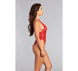 Sexy Shop Online I Trasgressivi - Sexy Lingerie - Body Sahara Teddy Royal Red - Be Wicked