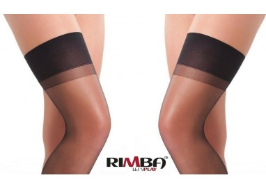 Sexy Shop Online I Trasgressivi - Calze & Collant - Calze Autoreggenti Nere Stockings Amorable - Rimba