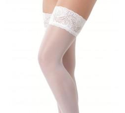 Sexy Shop Online I Trasgressivi - Calze & Collant - Calze Velate Autoreggenti Bianche Hold Up Stockings Amorable - Rimba