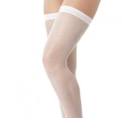 Sexy Shop Online I Trasgressivi - Calze & Collant - Calze a Rete Autoreggenti Bianche Stocking Amorable – Rimba