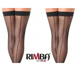 Sexy Shop Online I Trasgressivi - Calze & Collant - Calze a Rete Autoreggenti Nere Fishnet Stockings Amorable – Rimba