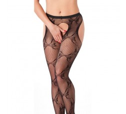 Sexy Shop Online I Trasgressivi - Calze & Collant - Calze Nere a Rete Suspender Tights Amorable – Rimba