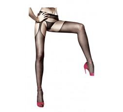 Sexy Shop Online I Trasgressivi - Calze & Collant - Calze Nere Suspender Hose Sheer - Baci Lingerie
