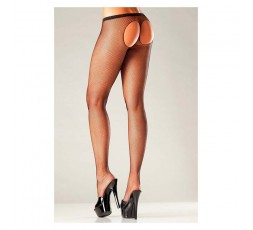 Sexy Shop Online I Trasgressivi - Calze & Collant - Sheer Thong Black Pantyhose - Be Wicked