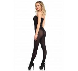 Sexy Shop Online I Trasgressivi - Bodystocking - Bodystocking Nero Opaco - Leg Avenue