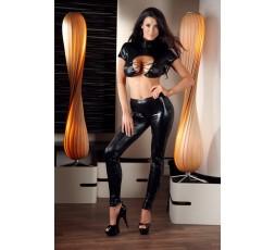 Sexy Shop Online I Trasgressivi - Abito Sexy - Top & Pants Neri Lucidi - Cottelli Collection