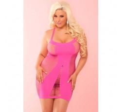 Sexy Shop Online I Trasgressivi - Abito Sexy - Mini Abito Rosa Amnesia Seamless Hot Dress - Pink Lipstick