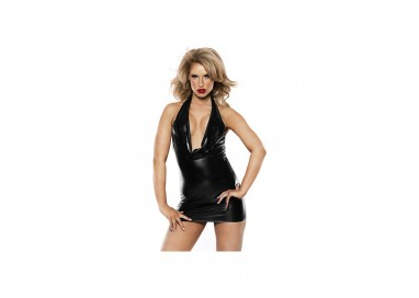 Abito Sexy - Alluring Kitten Dress Black - Allure