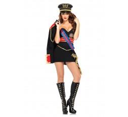 Sexy Shop Online I Trasgressivi - Costume Sexy Per Carnevale - Costume Diva Dittatore - Leg Avenue