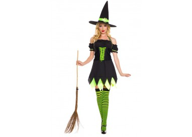 Il consiglio del giorno: Halloween Donna - Costume da Holly Dark Witch - Music Legs