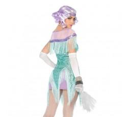 Sexy Shop Online I Trasgressivi - Carnevale Donna - Costume da Foxtrot Flirt Verde - Leg Avenue