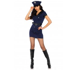 Sexy Shop Online I Trasgressivi - Costume Sexy Per Carnevale - Wonderland Arresting Officer Dress - Leg Avenue