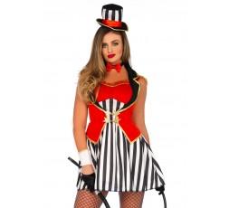 Sexy Shop Online I Trasgressivi - Costume Sexy Per Carnevale - Wonderland Circus Ringmaster Dress - Leg Avenue