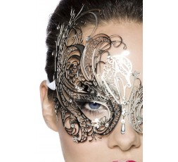 Sexy Shop Online I Trasgressivi - Maschera BDSM - Maschera Veneziana Metallica - Fifty Shades Of Grey
