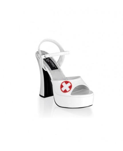 Sexy Shop Online I Trasgressivi - Scarpa e Stivale da Infermiera - Sandalo Dolly 10 - Pleaser