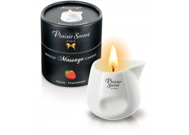 Candela Per Massaggi - Massage Candle Strawberry - Plaisirs Secrets