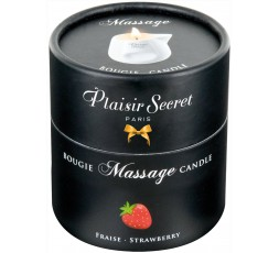 Sexy Shop Online I Trasgressivi - Candela Per Massaggi - Massage Candle Strawberry - Plaisirs Secrets