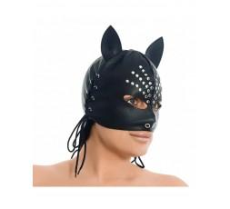 Sexy Shop Online I Trasgressivi - Maschera BDSM - Maschera Con Le Orecchie Decorato Con Rivetti - Rimba