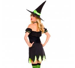 Sexy Shop Online I Trasgressivi - Halloween Donna - Costume da Holly Dark Witch - Music Legs