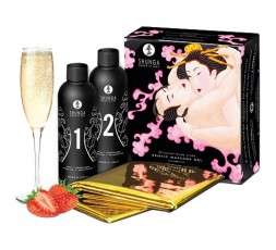 Sexy Shop Online I Trasgressivi - Kit e Set - Body Oriental Massage Gel Set Strawberry - Shunga