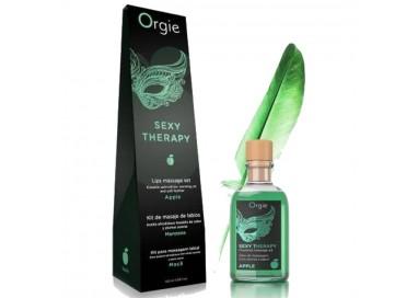 Olio Per Massaggi - Lips Massage Kit Apple - Orgie