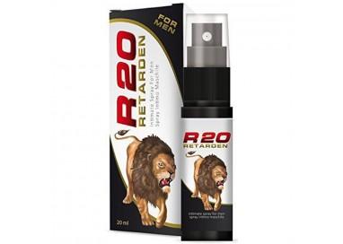 Ritardante & Desensibilizzante - Spray Ritardante R20 Retarden For Men - Intimateline