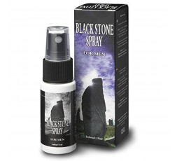 Sexy Shop Online I Trasgressivi - Ritardante & Desensibilizzante - Spray Ritardante Black Stone For Men - Cobeco Pharma