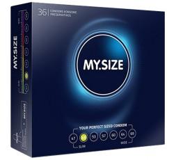 Sexy Shop Online I Trasgressivi - Profilattici Vegani - 36 Pezzi da 49 mm - My.Size