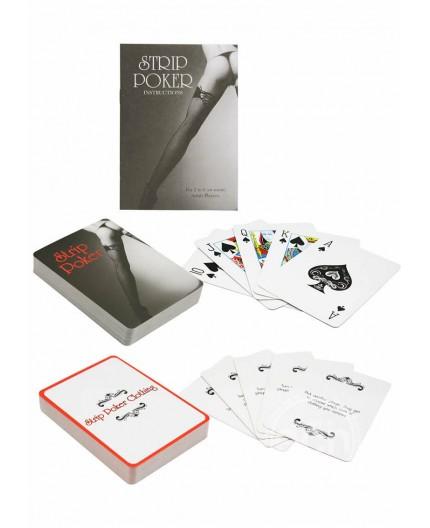 Sexy Shop Online I Trasgressivi - Gadget Addio Nubilato - Carte da Gioco Strip Poker - California Exotic Novelties