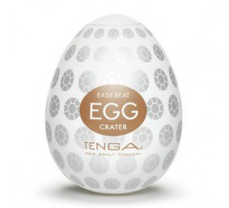 Sexy Shop Online I Trasgressivi - Masturbatore Design - Masturbatore Tenga Egg Crater - Tenga