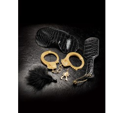 Sexy Shop Online I Trasgressivi - Kit BDSM - Kit Fantasy Nero e Oro - Pipedream