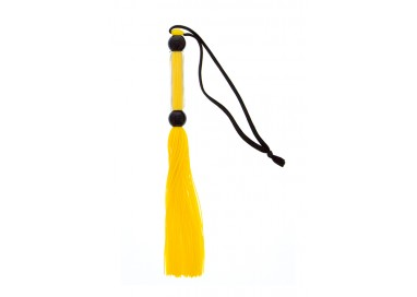 Fruste e Paddle - Yellow Silicone Flogger Whip - Guilty Pleasure