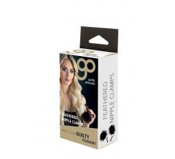 Sexy Shop Online I Trasgressivi - Pesi e Pinze BDSM - GP Feathered Nipple Clamps - Guilty Pleasure