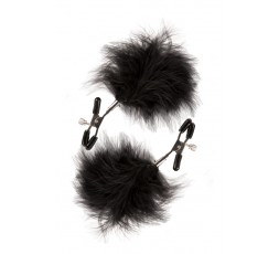 Sexy Shop Online I Trasgressivi - Pesi e Pinze BDSM - GP Feathered Nipple Clamps - Guilty Pleasure
